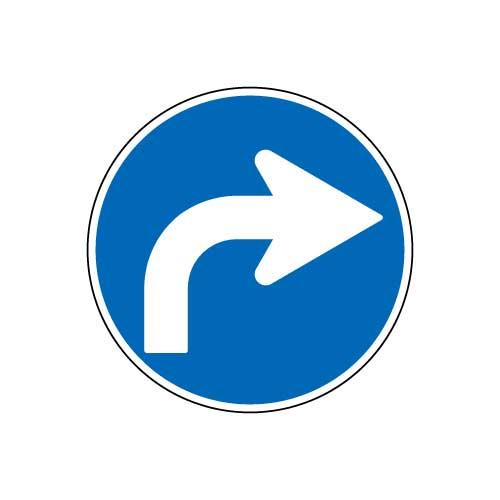 規制標識 右折
