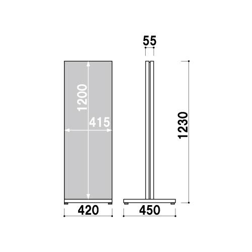 タワーサイン TS-70(TS-70)_K