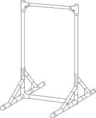大型看板枠 規格品 NG-900型