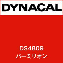 ダイナサイン DS4809 バーミリオン