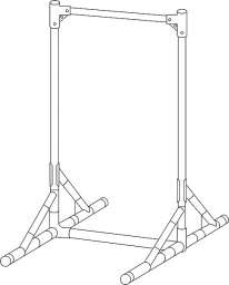 大型看板枠 規格品 NG-900型(NG-900型)