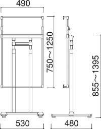 パネルスタンド PS-10(PS-10)_A