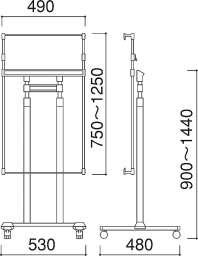 パネルスタンド PC-10(PC-10)_A