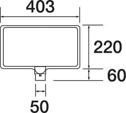 コーン用 カラーサインボード 871-70(871-70)_A