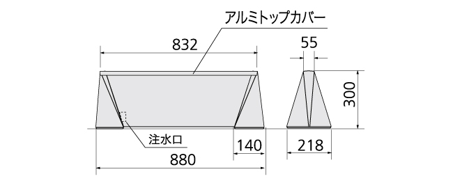 ブリリアントサイン Type-D W800(GBR-D-S-800)_s1