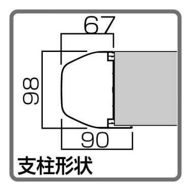 アルミ屋外掲示板 AGPワイド 自立タイプ(AGP-2112/AGP-2412)_4