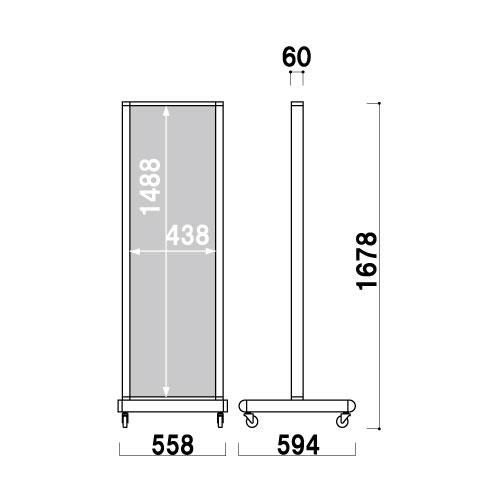 アルミタワーサイン ATS-45R(ATS-45R)_2