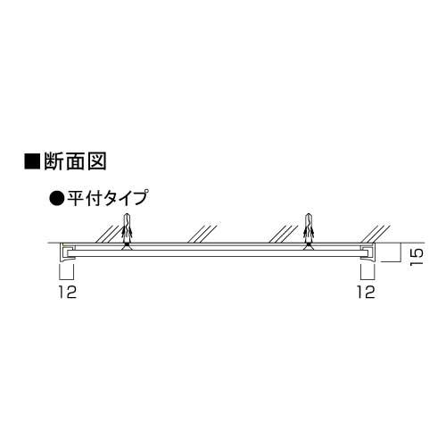 サインプレート F-PIC 平付 FAタイプ(FA27(FA61)/FA37(FA83)/FA39(FA100)/FA45(FA150)/FA55(FA200)/FA65(FA250)/FA60/FA81/FA300)_2