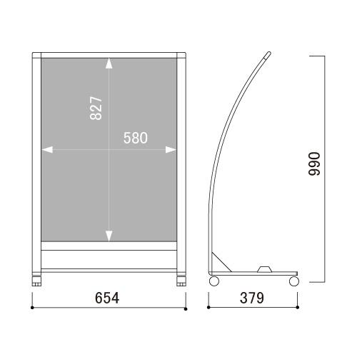 小型カーブサイン SRX-72(SRX-72)_2