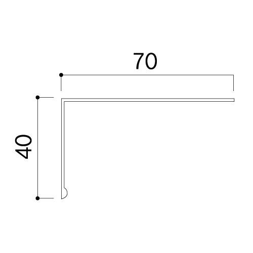 パノラマレール用カバー PR-C40 L=4000mm(PR-C40)_2