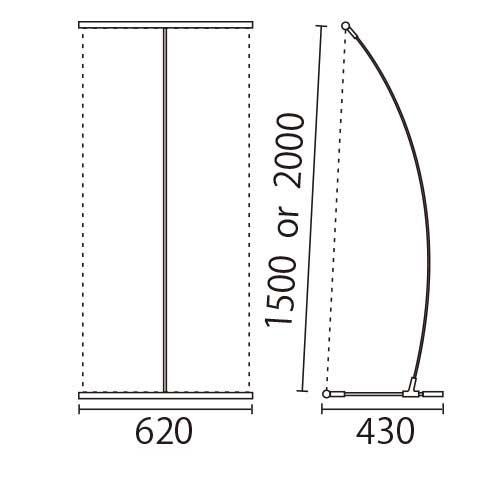 I-BannerⅡ620(アイバナーW590)シルバー(I-BannerⅡ620)_6