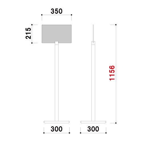 ポールサイン SOX-18D(SOX-18D)_2