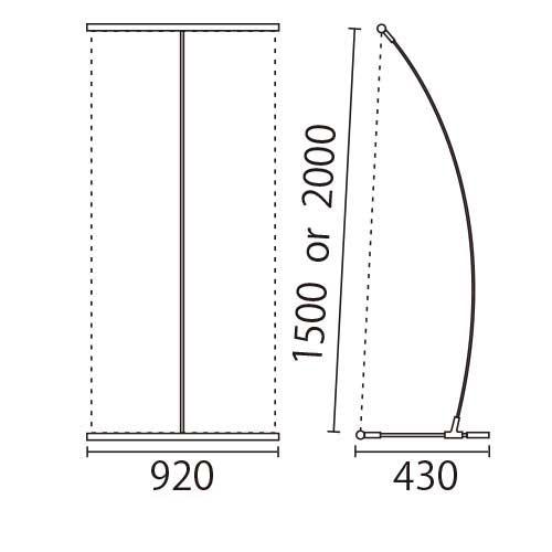 I-BannerⅡ920(アイバナーW890)ブラック(I-BannerⅡ920)_6
