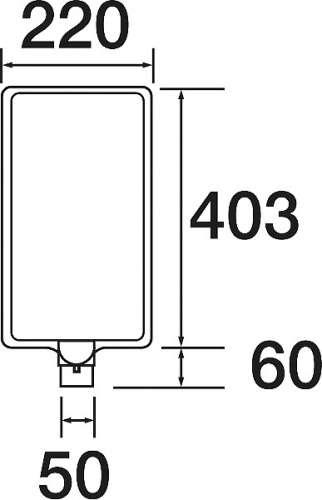 コーン用 カラーサインボード 871-87(871-87)_2