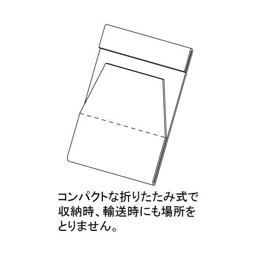 PET 折りたたみカード立_3