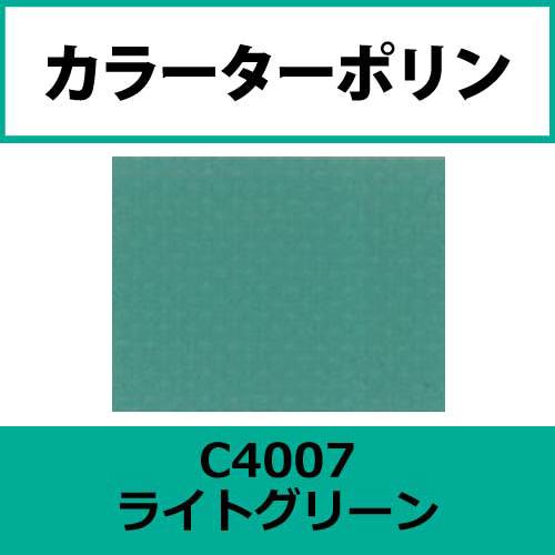 カラーターポリン APC400-F ライトグリーン APC4007(APC4007)