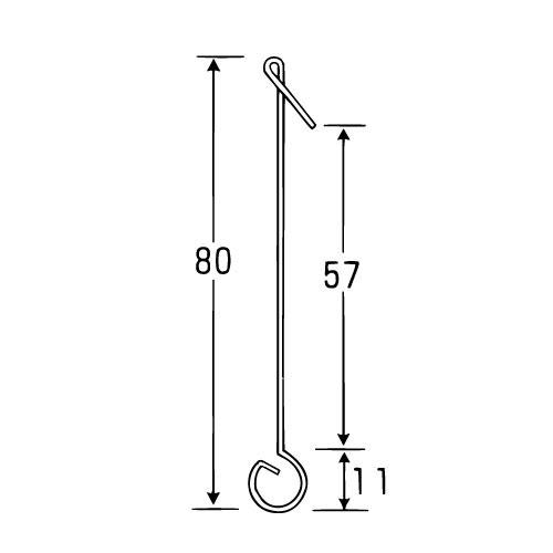 ラクチンフック 強力型 (強力型 No132S)_2