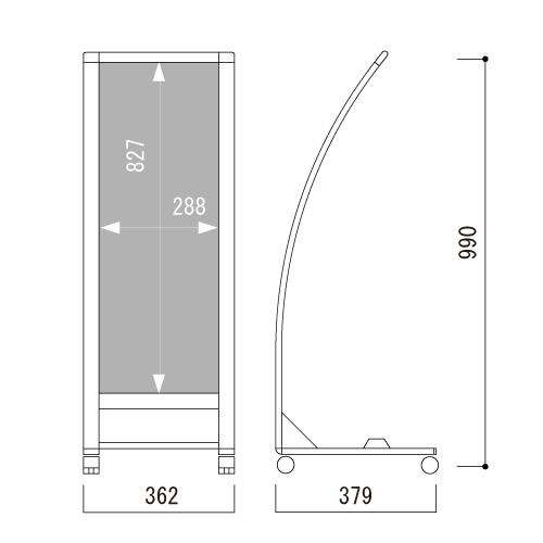 小型カーブサイン SRX-73(SRX-73)_2