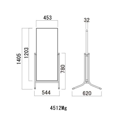 サインスタンド コロバン スチール複合板タイプ(309Mg/459Mg/609Mg/4512Mg)_5