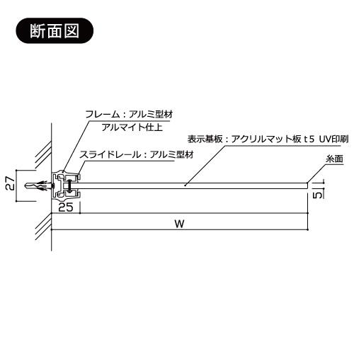 サインプレート F-PIC 突出 GFYタイプ(GFY61/GFY81/GFY83/GFY150/GFY200/GFY250)_2